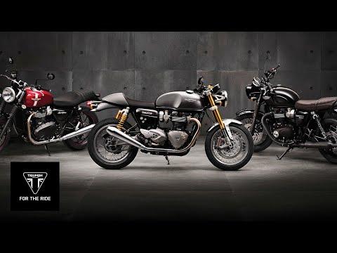 Vídeos de 'Nueva Triumph Bonneville T120 y T120 Black 2016'