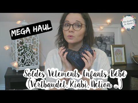 ♥ MEGA HAUL | SOLDES BEBE ET ENFANTS VETEMENTS 😍 [VERTBAUDET, KIABI, ACTION] ❥