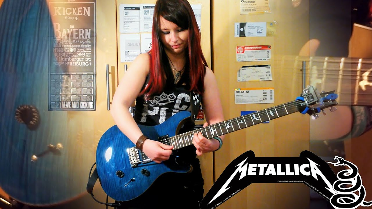 METALLICA – Enter Sandman [GUITAR COVER] with SOLO by Jassy J