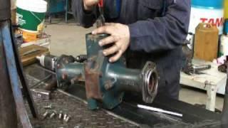 REVISIONE TRATTORI KUBOTA - 3: rimontaggio trazione anteriore