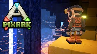 Magic Mining & Raptor Tames! • Ep.04 • PixARK Multiplayer w/ PythonGB