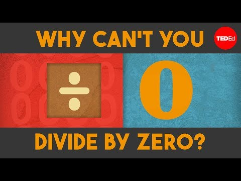 Why Can  t You Divide by Zero