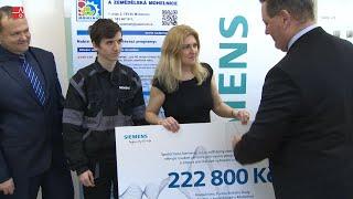 Firma Siemens předala finanční dar SŠTZ na podporu nového oboru