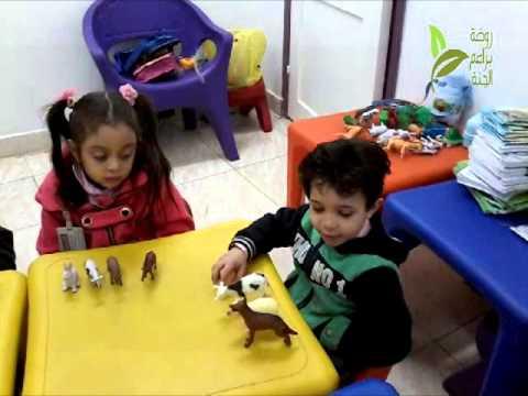 رياض أطفال 2   حصة العلوم