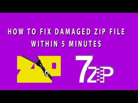 Video How to fix Corrupted or Damaged zip file I Repair Corrupted Archive ZIP or RAR file I Winrar download in MP3, 3GP, MP4, WEBM, AVI, FLV January 2017