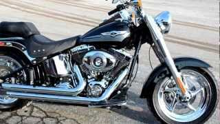 6. For Sale 2008 Harley-Davidson FLSTF Fat Boy only 750 Miles at East 11 Motorcycle Exchange LLC