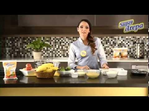 Video - Receta de muffins de banano y arándanos
