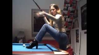 Couple's Impressive Pool Trick Shots