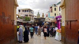 The Kingdom of Morocco Fez  - Medina, madrasah Bou Inania, Bab Bou Jeloud gate / Марокко Фес Медина