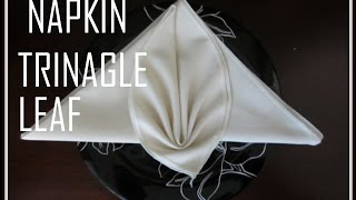 Fold this napkin origami  for your next dinner party and wow your friends and dinner guests! It good decoration for wedding, Valentine Day or birthday. (Складывание салфеток)