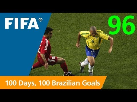japan - The all-time FIFA World Cup™ top scorer, Ronaldo claimed one of his best with this leaping volley against Turkey in Asia's first finals. FIFA on YouTube is h...