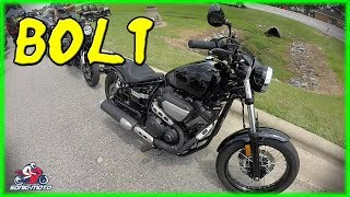 2. Riding A Cruiser For The First Time - 2017 Yamaha Bolt