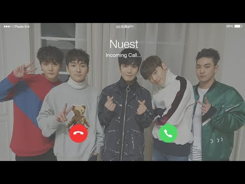 Nuest(뉴이스트) - Hello (여보세요) (2017 ver.) Lyrics (Eng/Han/Rom) [Phone Call] (видео)