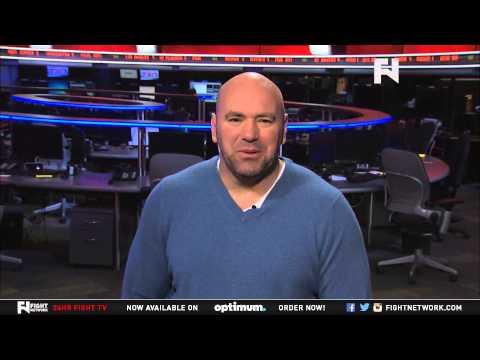 UFC 189 World Tour: Dana White Talks Aldo-McGregor Animosity and More