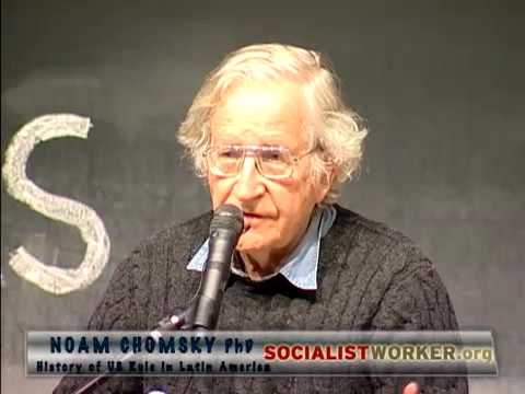 Noam Chomsky - History of US Rule in Latin America (2009)