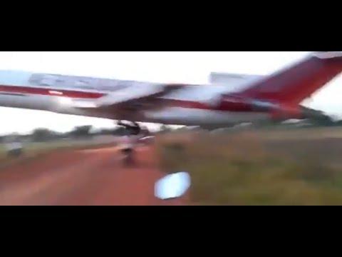Грузовой Боинг 727-200,потерпел крушение в Колумбии
