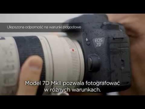 Lustrzanka cyfrowa CANON EOS 7D Mark II Body