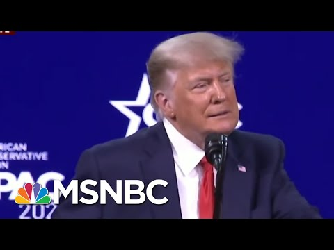 Trump Makes First Post-White House Speech At CPAC | Morning Joe | MSNBC