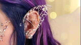 Fairy Ear Cuff ♥ DIY - YouTube