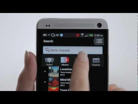 Video of MOG Mobile Music