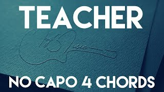 Video How To Play Teacher by PRETTYMUCH | No Capo (4 Chords) Guitar Lesson MP3, 3GP, MP4, WEBM, AVI, FLV Juni 2018