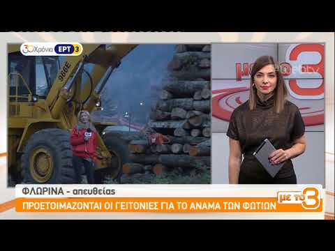 Aναβιώνει το έθιμο των Φωτιών στη Φλώρινα | 14/12/2018 | ΕΡΤ