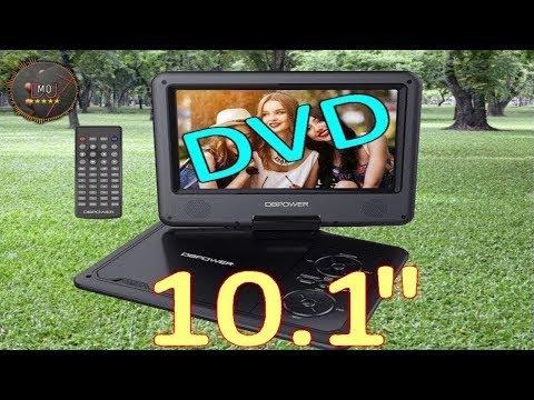 🎬AMAZON►10.5'' DVD portatile,ricaricabile, display ruotabile, con SD, USB(ITA)