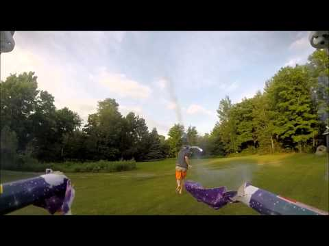 Attach some roman candles to a drone. What could go wrong?