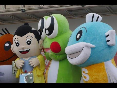 【ゆるキャラ】滋賀のご当地キャラ、イナズマロックフェス201 …