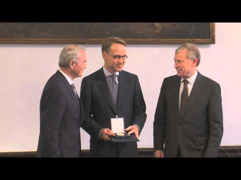 Hayek Stiftung, Internationaler Preis 2015 an Jens Weidmann