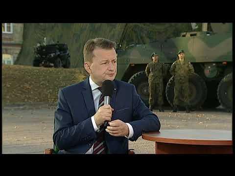 Minister Mariusz Błaszczak dla TVP INFO