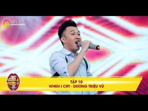 Dương Triệu Vũ Giọng Ải Giọng Ai tập 10