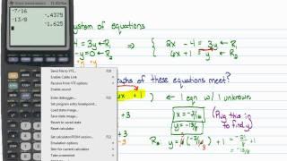 Intermediate Algebra - Solving Small Systems of Linear Equations Algebraically (Part A)