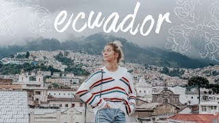 i went to ecuador | travel vlog by Meghan Rienks