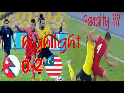 Nepal Vs Malaysia# Malaysia Vs Nepal Football Highlights 2-0 #Friendly Match 2/6/2019