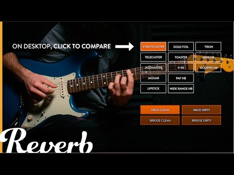 Reverb's Classic Electric Guitar Pickup Shootout
