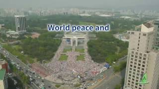 3rd annual commemoration of the declaration of world peace and the peace walk