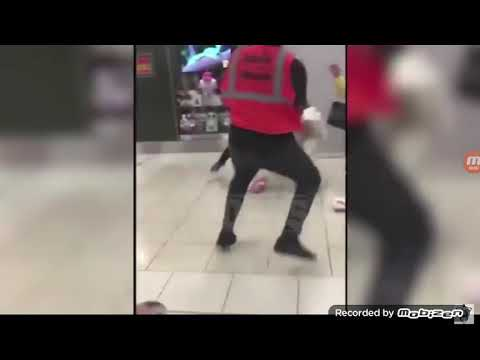 Pac man get in fight at airport