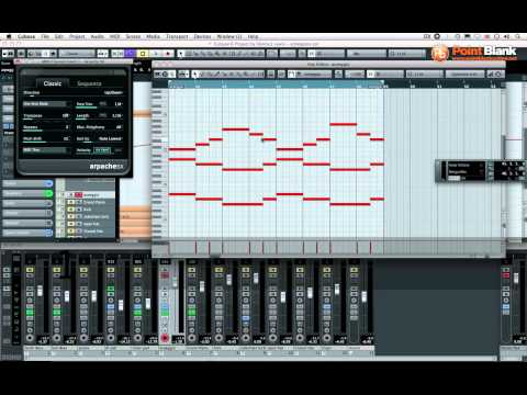 Cubase 6 – Introduction to the Arpache SX MIDI Plugin