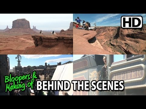 The Lone Ranger (2013) Making of & Behind the Scenes (Part2/4)