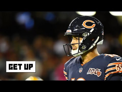Video: Mitchell Trubisky looked like a rookie in Packers vs. Bears - Jonathan Vilma | Get Up