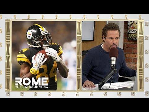 Video: Antonio Brown Request A Trade | The Jim Rome Show