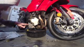 1. Oil Change 2013 CBR600RR ABS