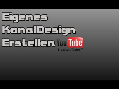 Eigenes KanalDesign Erstellen – (Photoscape)