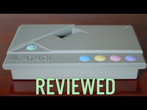 Atari 8-Bit XE Game System XEGS Review, Teardown, Repair and SIDE2 Compact Flash Hard Disk Upgrade!