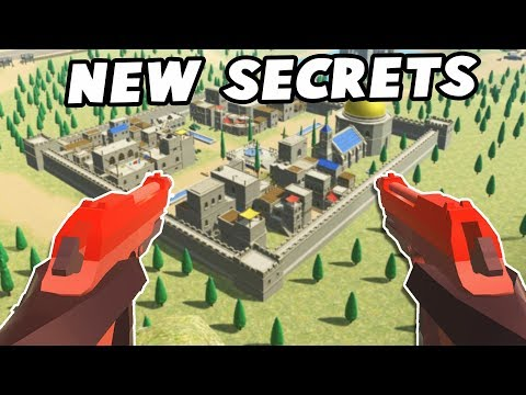 NEW Secret Weapons!  Akimbo & SUPER AA-AA!  (Ravenfield Beta Gameplay New Update Secrets) (видео)