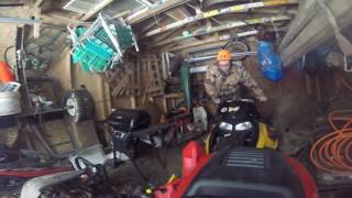7. The Skidoo 550f Cold Start Part 4