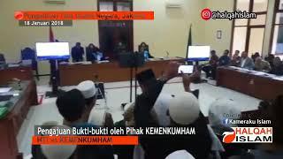 Download Video Full PERSIDANGAN HTI vs KEMENKUMHAM, di PTUN  Jakarta 18 Januari 2018 MP3 3GP MP4
