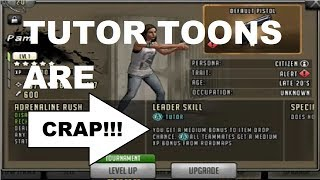 Walking Dead  Road to Survival - TUTOR TOONS - SUCH CRAP!!!