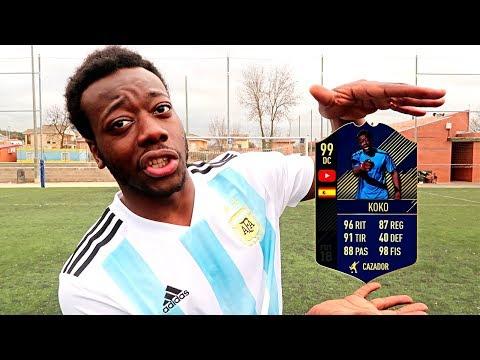 MI CARTA DE FIFA EN LA VIDA REAL !!!